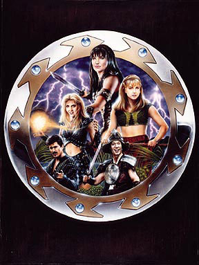Xena Warrior Princess Lithograph Signed