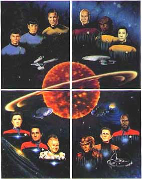 Star Trek 30th Anniversary Lithograph Artwork