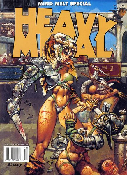 Heavy Metal Fall 2001 Volume 15 #3 (Rare)