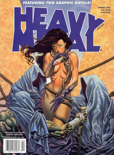 Heavy Metal Spring 2002 Volume 16 #1 (Rare)