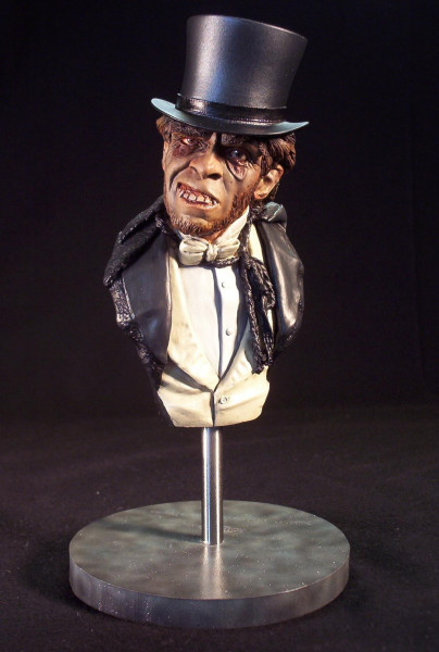 Dr. Jekyll & Mr Hyde 1/4 Scale Bust Model Assembly Kit