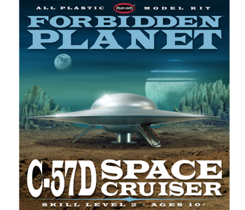 Forbidden Planet C-57D 1:144 Scale Model Kit