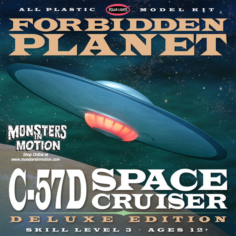 Forbidden Planet C-57D Deluxe Edition with lights 1:144-Polar Lights