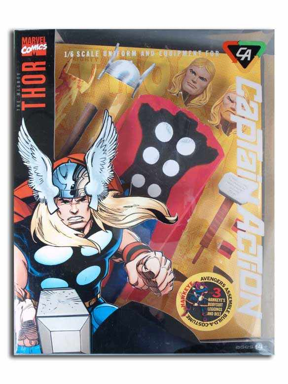 Captain Action Thor Deluxe Costume Set - Click Image to Close