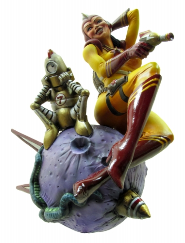 Rocket Girl Model Kit