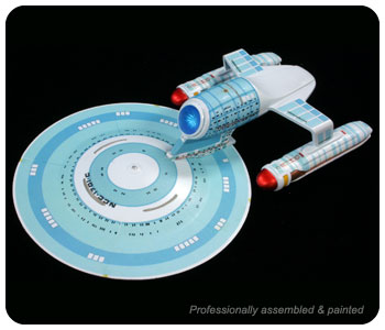 Star Trek Enterprise NCC-1701-C Snap Model Kit 1/2500 Scale