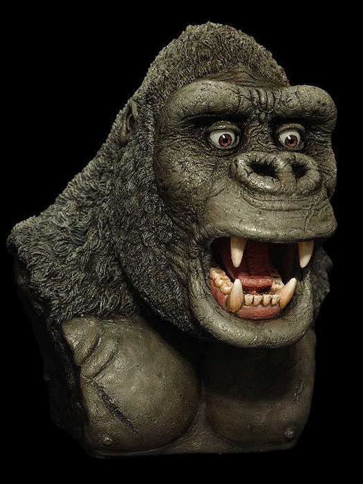 King Kong Mick Wood Jumbo Bust Resin Kit