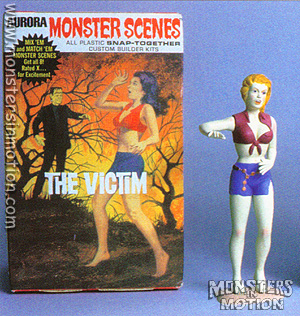 Victim Monster Scenes Aurora Model Kit (RESIN RE-CAST)