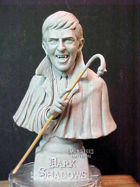 Dark Shadows Barnabas Collins 1/4 Scale Bust Model Hobby Kit