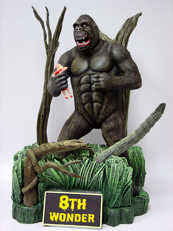 King Kong the 8th Wonder Aurora Box Art Tribute Model Kit #4 Jeff Yagher