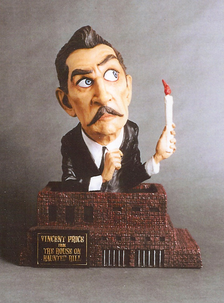 Vincent Price House On Haunted Hill Tribute Resin Model Assembly