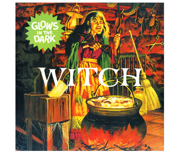 Witch Aurora Polar Lights GLOW Re-issue Plastic Model Kit