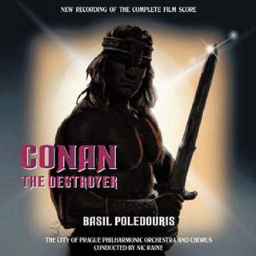 Conan the Destroyer Soundtrack/Score (2CD)