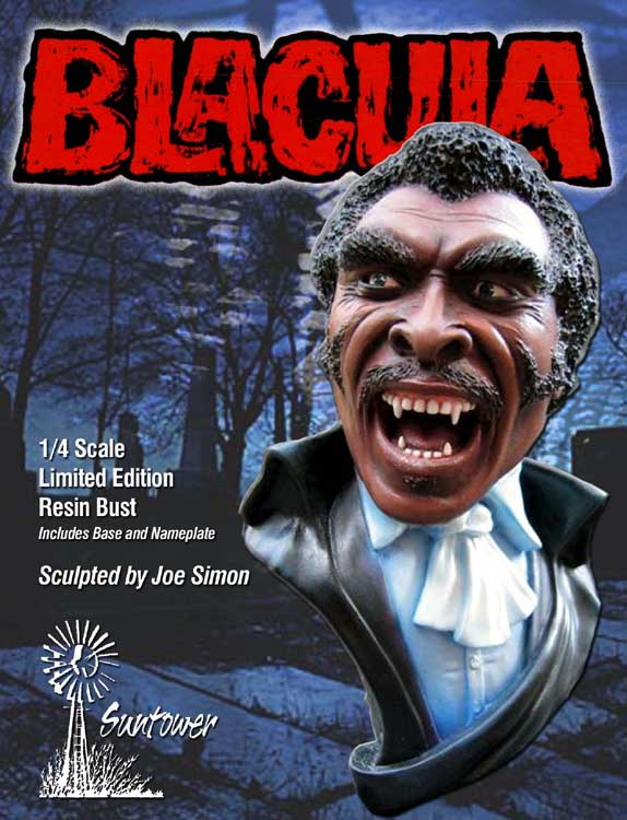 Blacula 1/4 Bust Model Hobby Kit w/Base