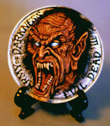 Army of Darkness Evil Demon Medallion Kit