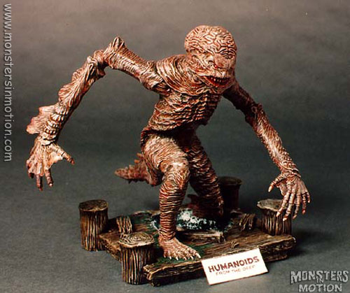 Humanoids From The Deep Model Assembly Resin Kit