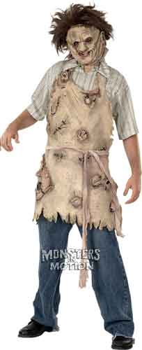 Leatherface Adult Latex Body Parts Apron