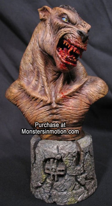 Underworld Lycan Wolf 1/4 Resin Model Assembly Bust Kit
