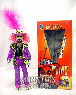 Pimp 12-Inch Doll Blood Dolls Full Moon