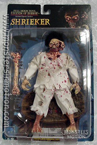 Full Moon Pictures Shrieker Action Figure Bloody Version