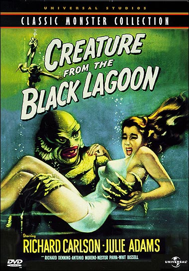 Creature From The Black Lagoon Blu-Ray (2D and 3D Versions