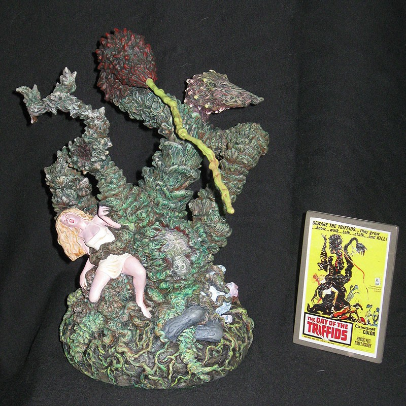 Day of the Triffids Triffid Model Kit Mad Labs Re-issue