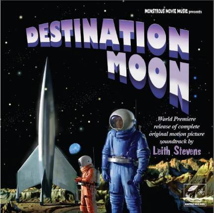 Destination Moon EXPANDED Soundtrack CD