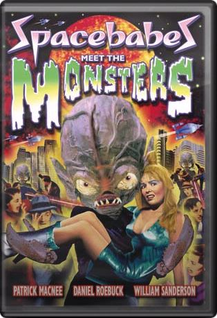 Space Babes Meet The Monsters DVD