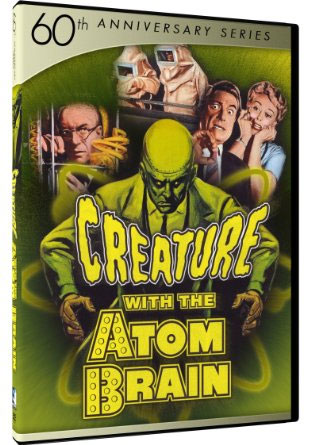 Creature With Atom Brain DVD 60th Anniversary Edition