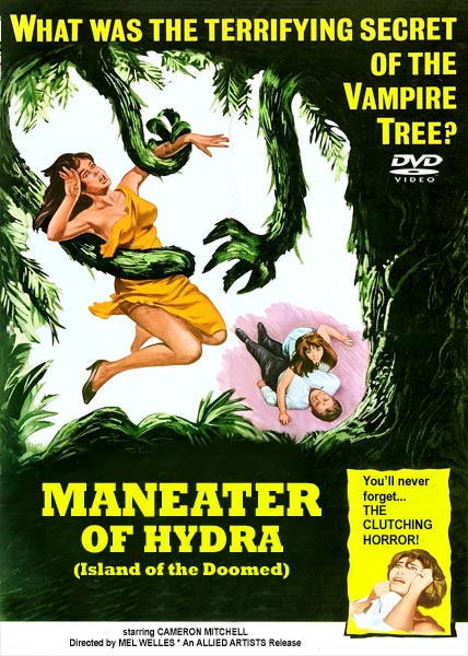 Maneater Of Hydra 1967 DVD Cameron Mitchell