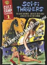 Cult Camp Classics: Volume 1 – Sci-Fi Thrillers DVD