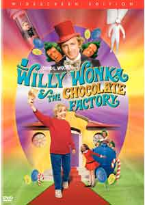 Willy Wonka & The Chocolate Factory Widescreen DVD
