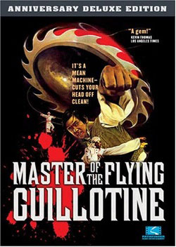 Master of the Flying Guillotine Anniversary Edition DVD