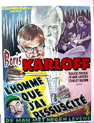 Man With Nine Lives Boris Karloff DVD