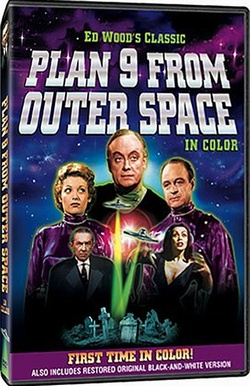 Plan 9 From Outer Space (B&W/Color Versions)