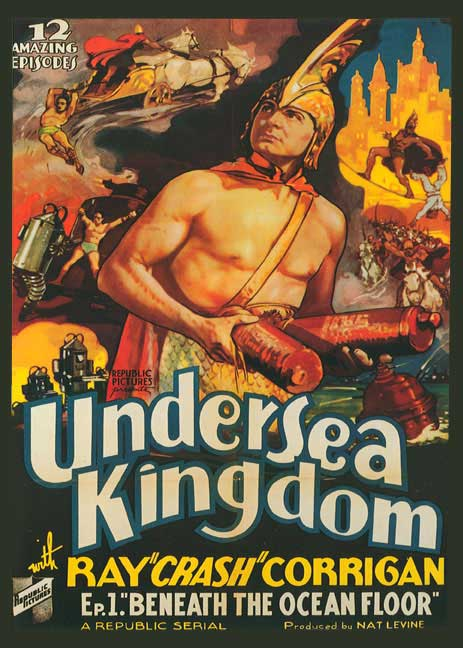 Undersea Kingdom 1936 Serial DVD