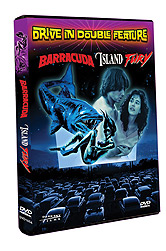 Drive-In Double Feature: Barracuda / Island Fury DVD