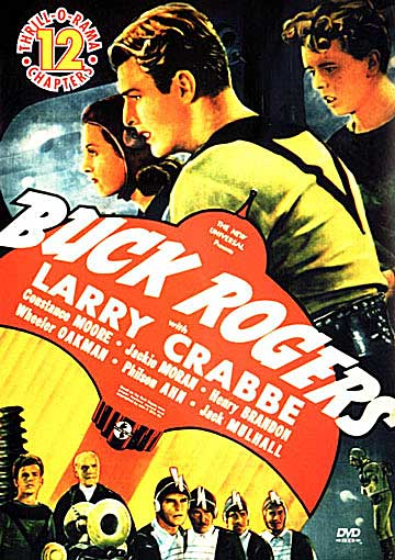 Buck Rogers Buster Crabbe 12 Episode Complete Serial DVD-RARE TITLE
