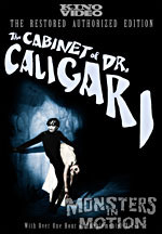 Cabinet of Dr Caligari Restored DVD