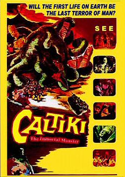 Caltiki The Immortal Monster 1960 DVD