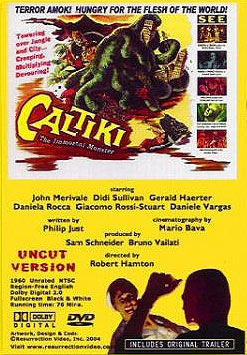 Caltiki The Immortal Monster 1960 DVD - Click Image to Close