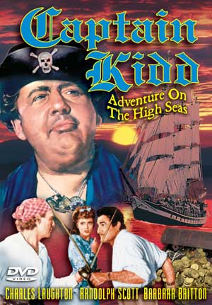 Captain Kidd 1945 DVD