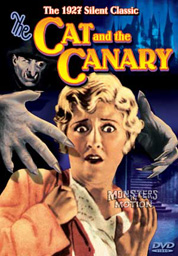 Cat And The Canary 1925 DVD