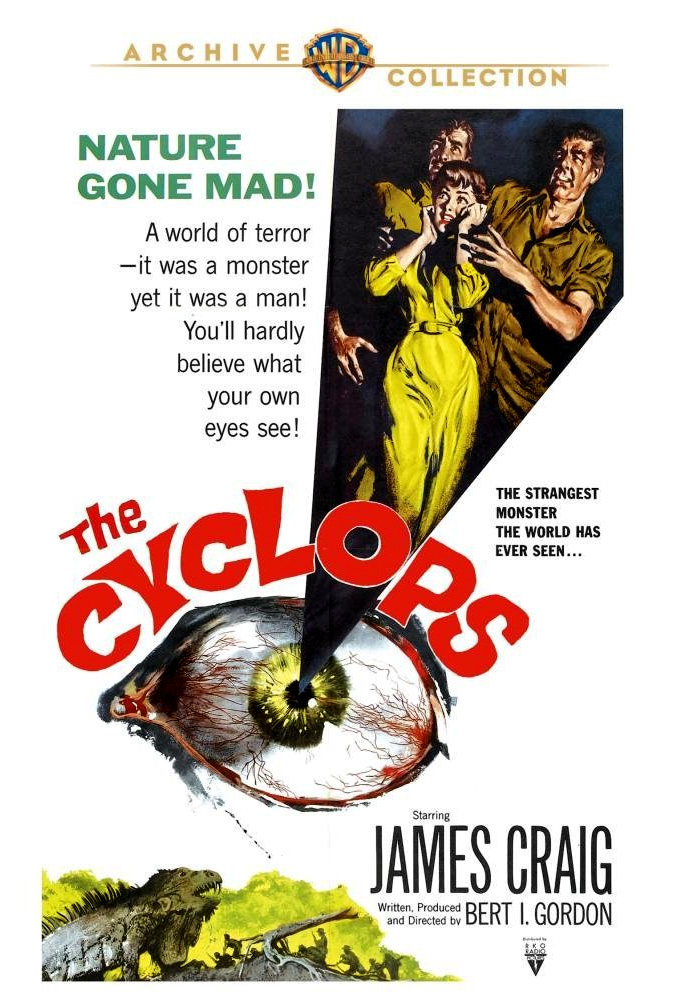 Cyclops, The 1957 DVD Lon Chaney Jr.
