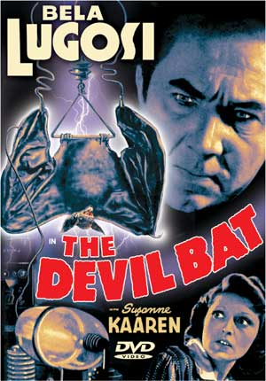 Devil Bat Bela Lugosi DVD