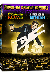 Drive-In Double Feature: Assassination in Rome / Espionage in Ta