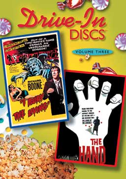 Drive-In Discs Volume Three- I Bury The Living/ The Hand DVD
