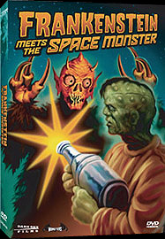 Frankenstein Meets the Space Monster DVD (1965)