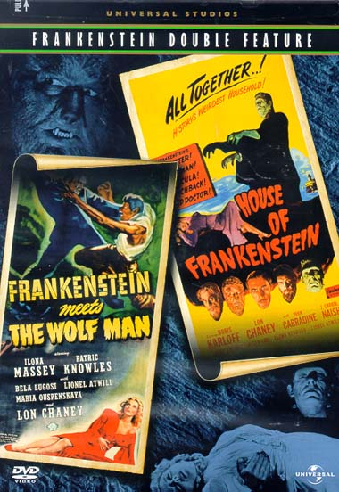 Frankenstein Meets The Wolf Man/ House Of Frankenstein DVD