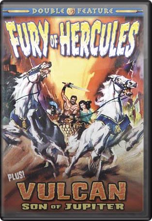 Fury of Hercules 1963 / Vulcan, Son of Jupiter 1961 DVD